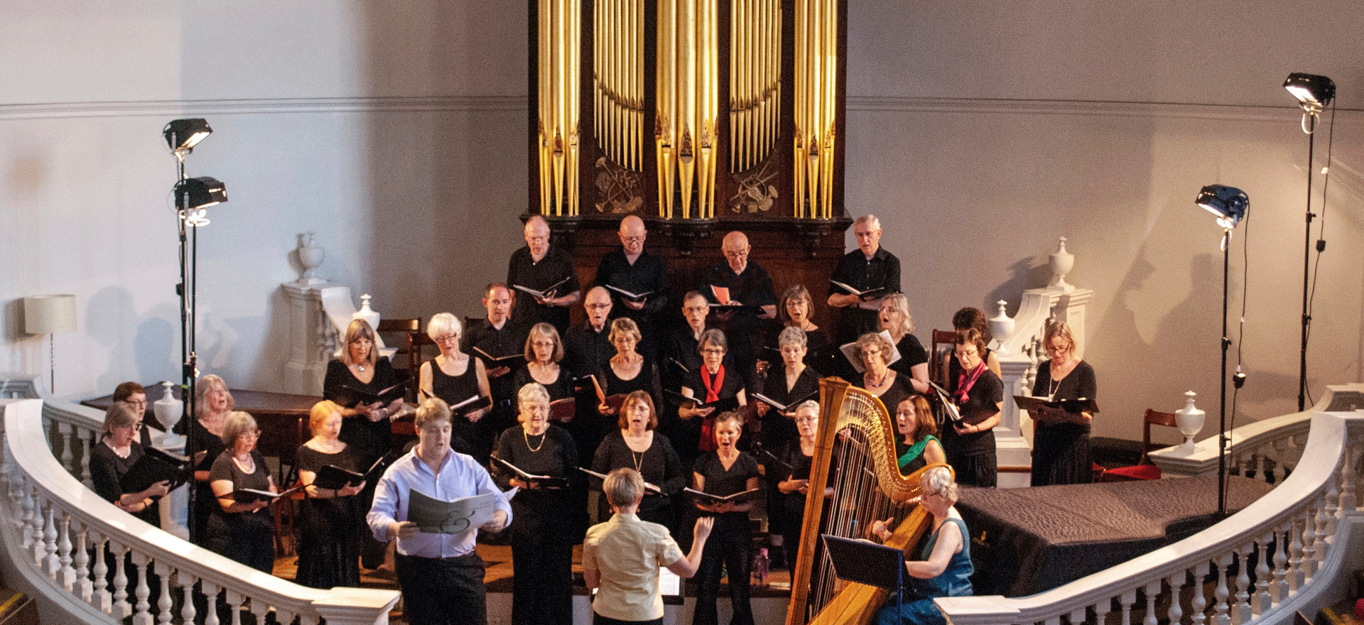 Choir and Harp 2019