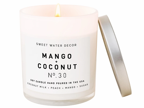 Mango + Coconut Candle