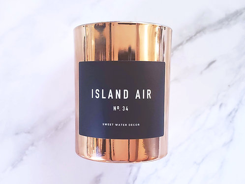 Island Air | Rose Gold Soy Candle