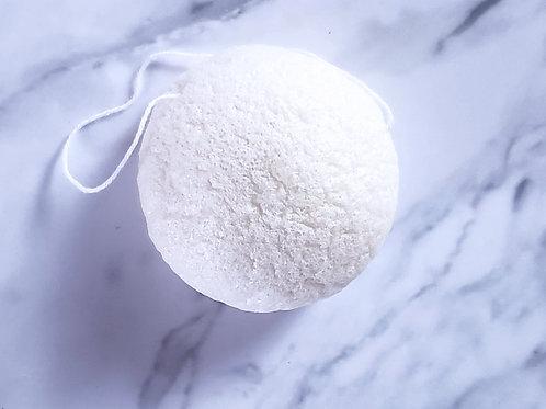 Konjac Facial Sponge | Pure White