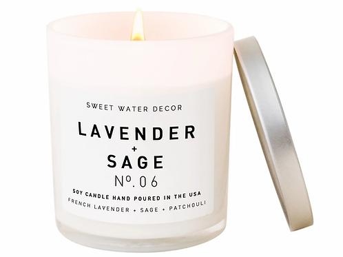 Lavender + Sage Candle