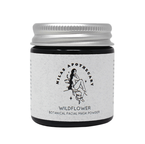 Wildflower botanical face mask - Mila's Apothecary