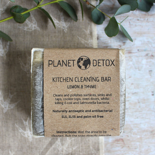 Kitchen cleaning bar - Planet Detox