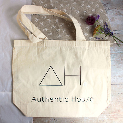 Organic tote bag - Authentic House