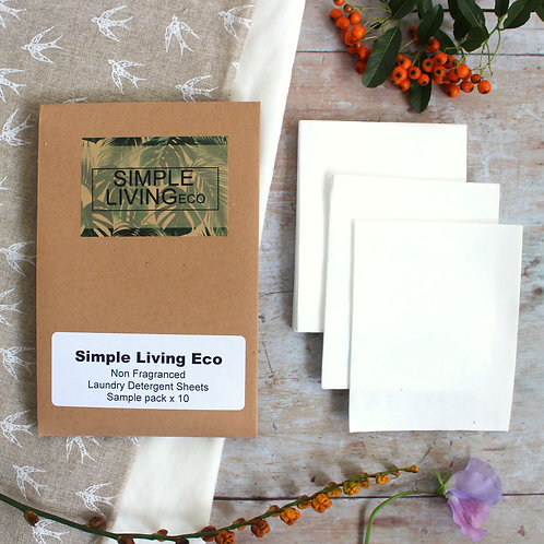 Laundry detergent sheets - Simple Living Eco