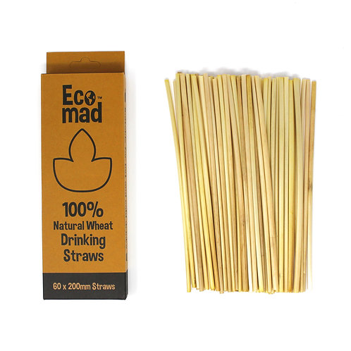 Wheat drinking straws - EcoMad