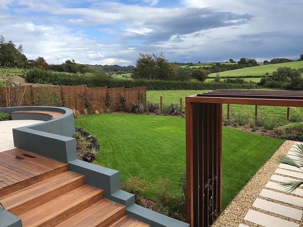 The Cowbridge garden