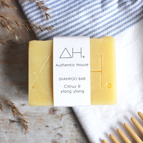 Citrus & ylang ylang shampoo bar - Authentic House