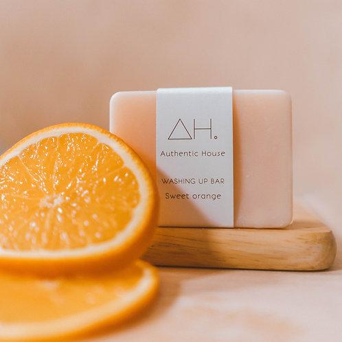 Sweet orange washing up bar - Authentic House