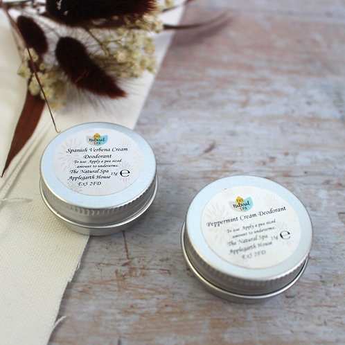 Mini cream deodorant - The Natural Spa