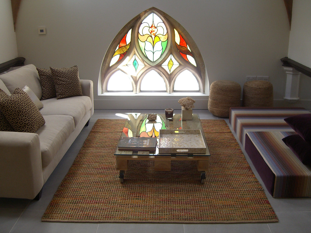Converted church apartment at Albert Road