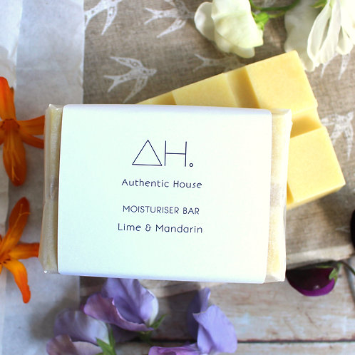 Lime & mandarin moisturiser bar - Authentic House