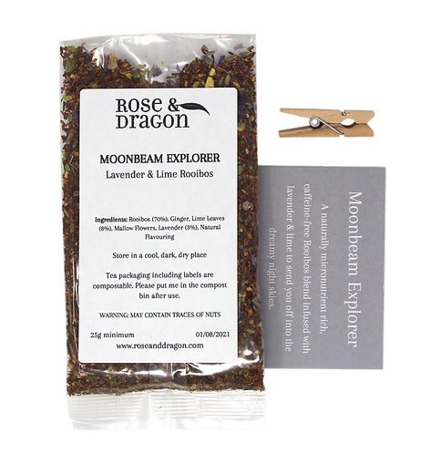 Moonbeam Explorer tea - Rose & Dragon