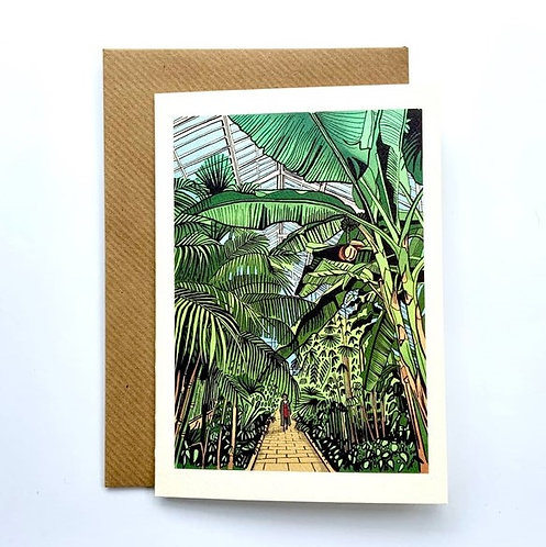 Kew Gardens glasshouse cards - Freya's Prints
