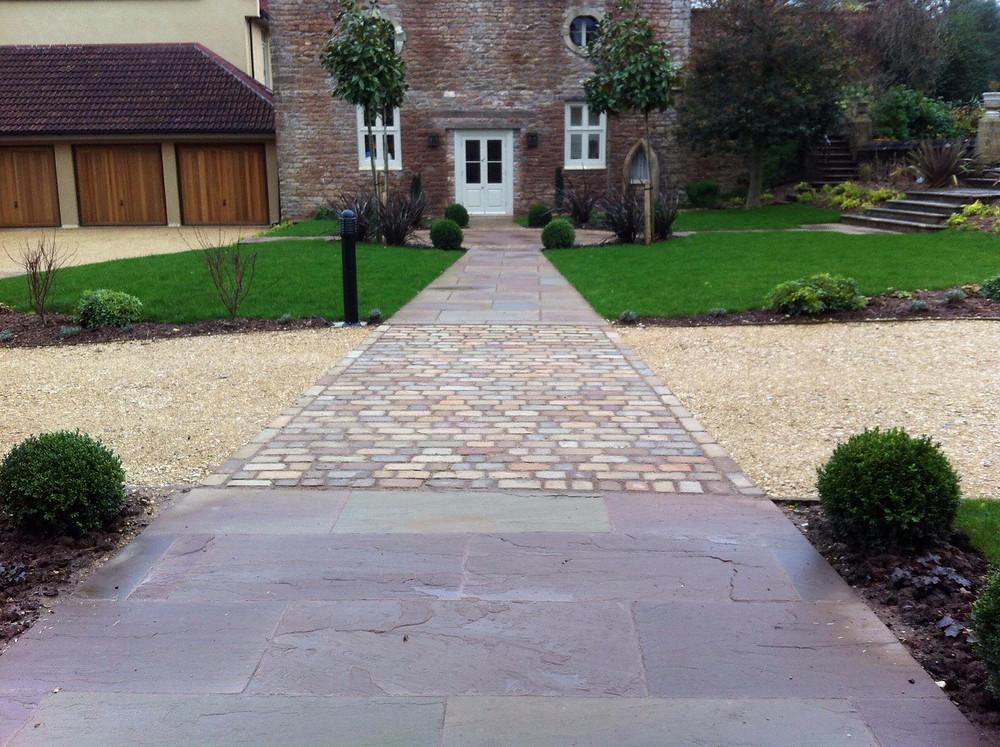 Chew Magna Manor garden