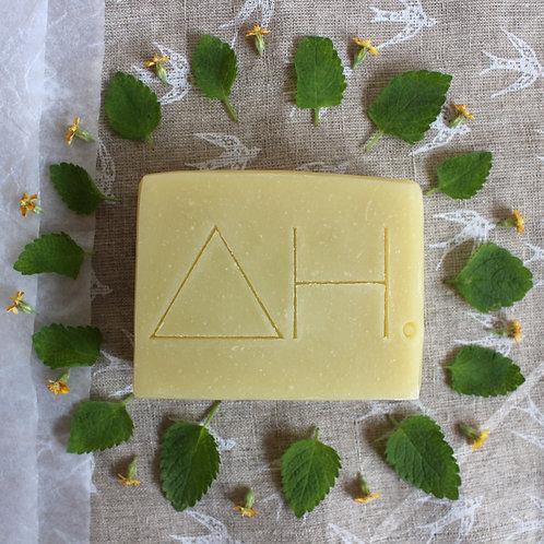 Mint tea matcha shampoo bar - Authentic House