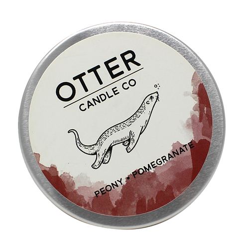 Soy candle tin - Otter Candle Co.