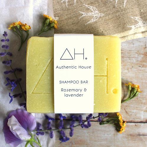Rosemary & lavender shampoo bar - Authentic House