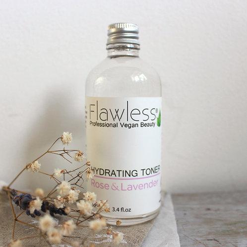 Rose & lavender hydrating toner - Flawless