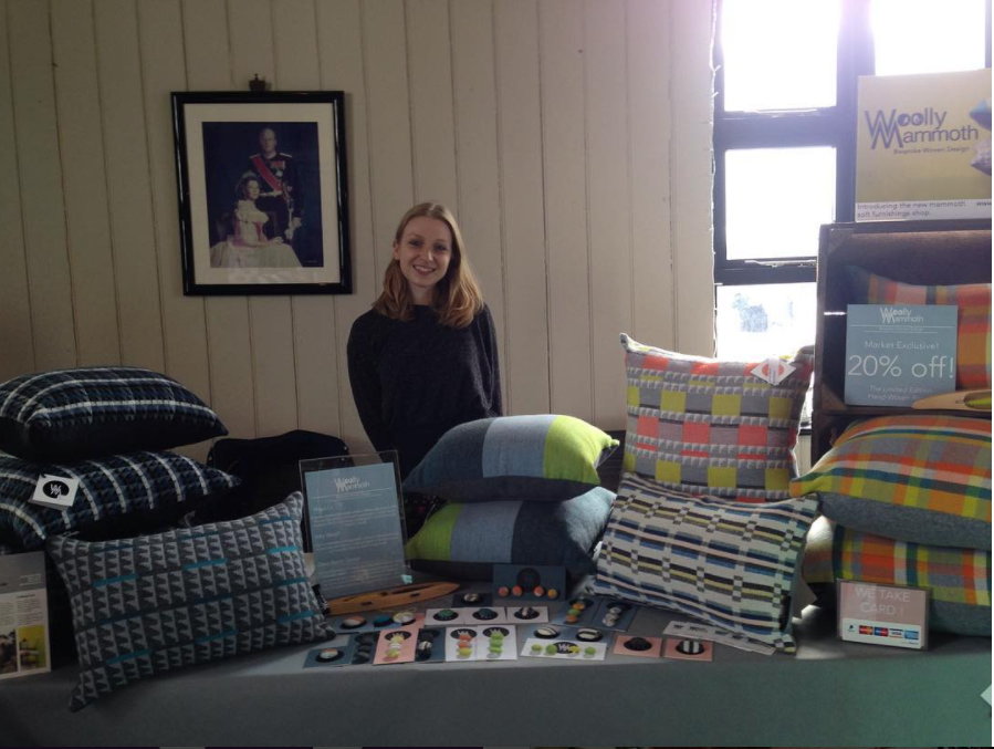 Emma at the Boutique Gift Market