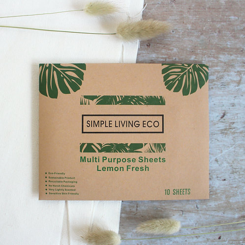 Multipurpose cleaning sheets - Simple Living Eco