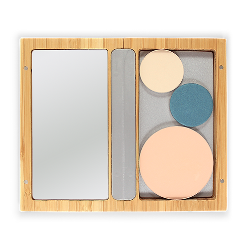 Refillable magnetic makeup palette - Zao