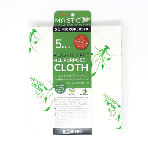 Maistic cleaning cloths - pack of 5