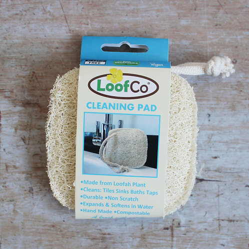 Cleaning loofah pad from LoofCo
