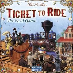Ticket to Ride Cartas
