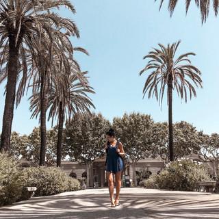 Päikseline ja palav Hispaania getaway