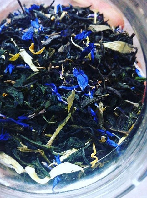 Mountain Flower Green Tea.      2 oz.