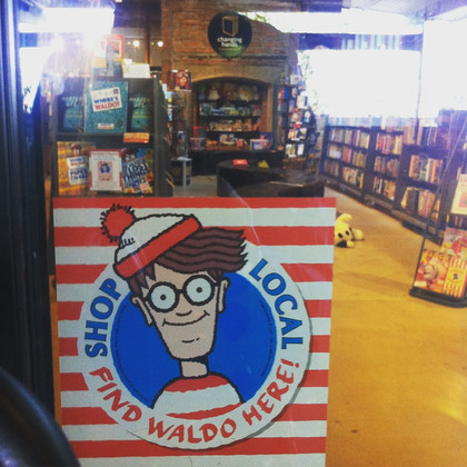 Where's Waldo Finds a Home at Changing Hands Books in Phoenix
