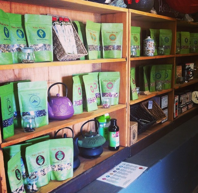 Wisdom Nectar Tea on the Shelves at Siphon Draw Apothecary