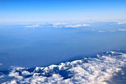 アルプスと富士山