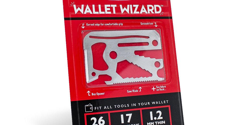 WALLET WIZARD 26-in-1 MULTI-TOOL
