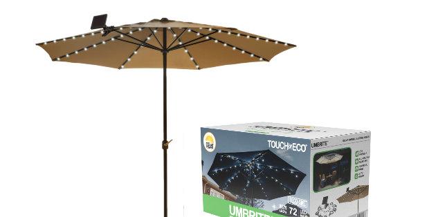 Umbrite Solar Umbrella Light