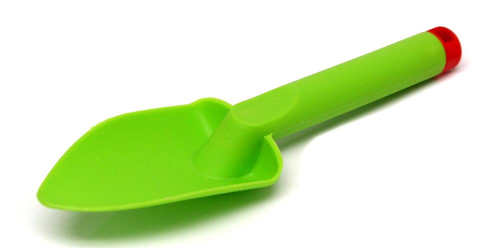 GREEN PLASTIC SHOVEL