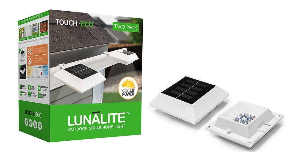 LUNALITE, SQUARE - PACK OF 2