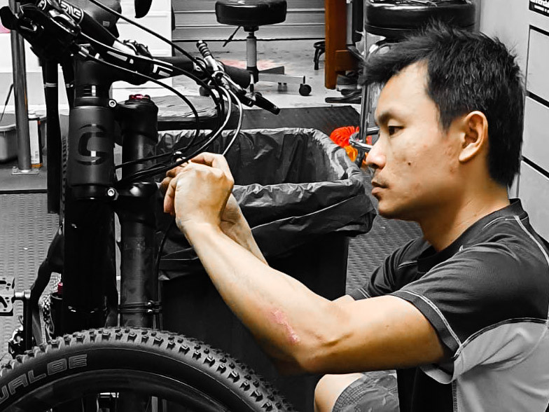 Professional Bicycle Maintenance in Sing