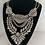 Thumbnail: Antique Stone Embellished Statement Necklace