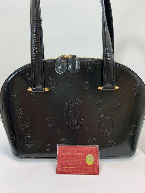 Authentic Must de Cartier Handbag