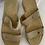 Thumbnail: Vintage Gucci Suede Flat Sandal