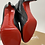 Thumbnail: Christian Louboutin Belle 85 Calf Brosse Cuoio Heel Boot