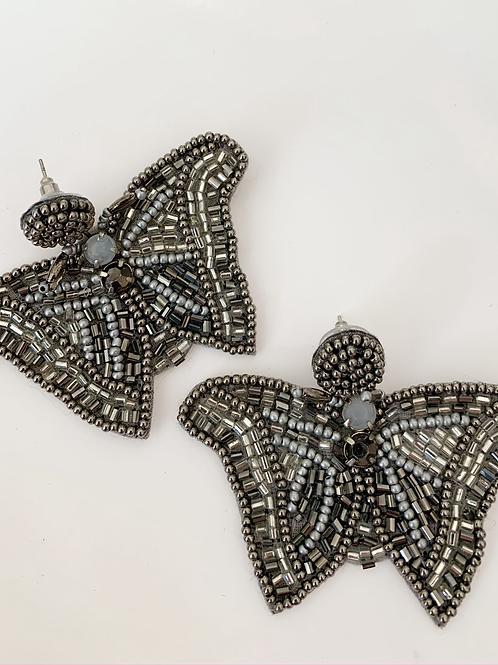 Art Deco Butterfly Earring