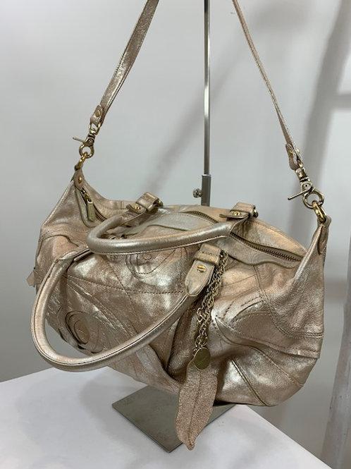 Botkier Metallic Pink Leather Satchel bag