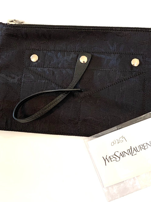 Yves Saint Laurent Bustina Wristlet Purse