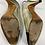 Thumbnail: Chanel Metallic Gold Leather Sling Back Shoe