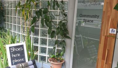 Community Space Entrance