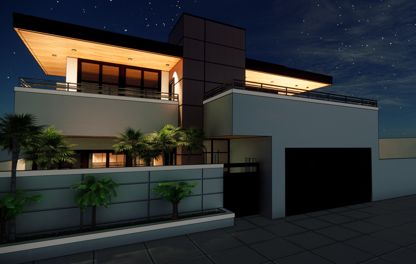 Nezien Associates Architects_ Residense