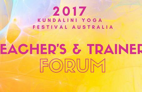 Teachers & Trainers Forum